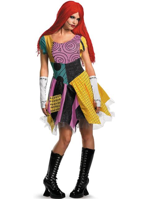 Sexy Kostüm von Sally aus Nightmare before Christmas.
