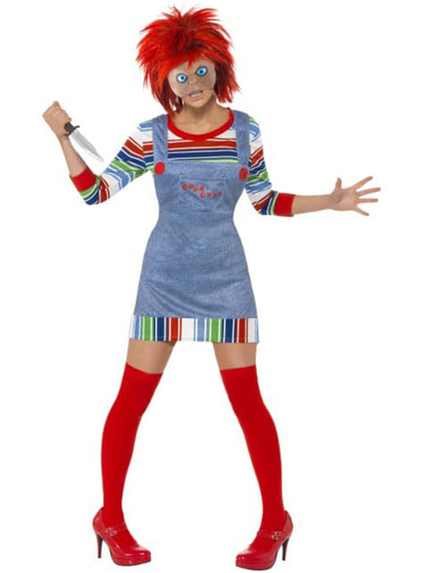 Chucky Adult Female Costume