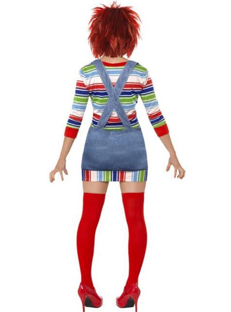 Disfraz de Chucky para mujer - mujer