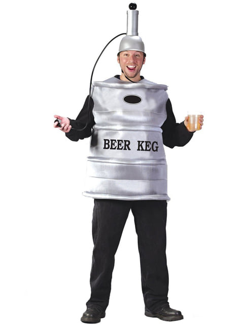 Beer barrel costume