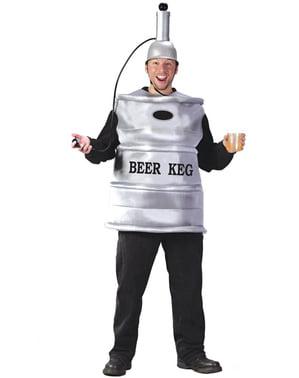 Déguisement de baril de bière