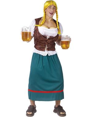 Miesten oluttyttö-asu