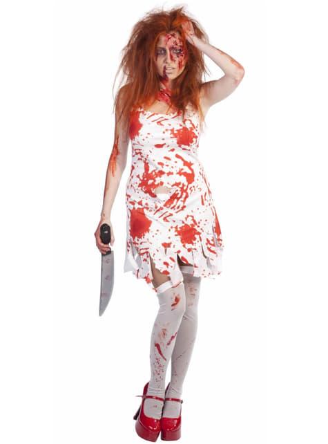 Fato de Carrie, a estranha zombie