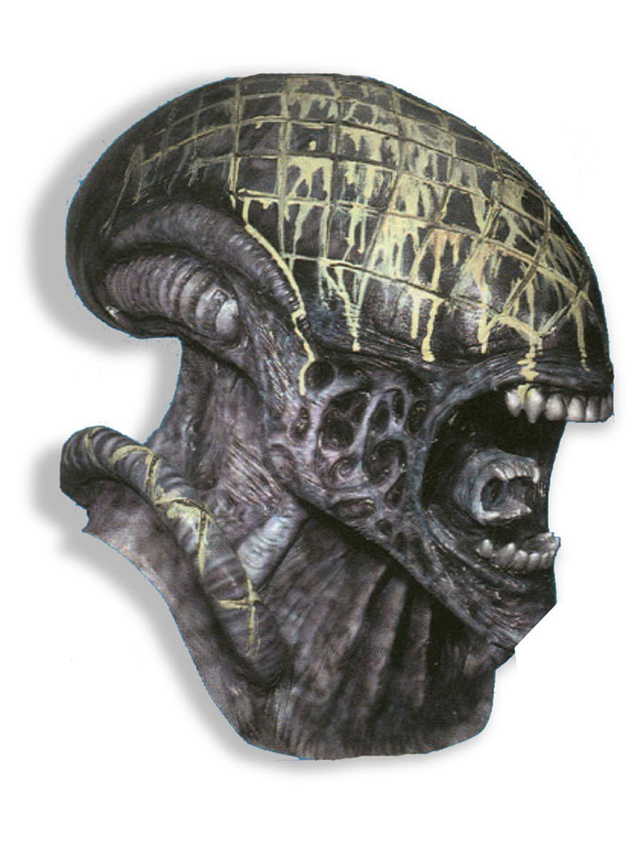 alien maske aus alien vs predator g nstig online kaufen preis. Black Bedroom Furniture Sets. Home Design Ideas