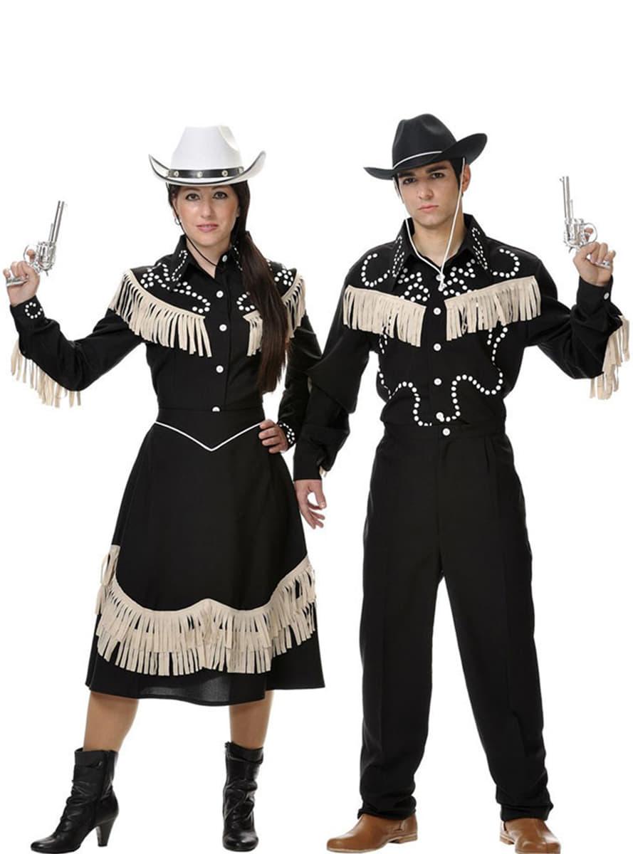 disfraz de cowboy mujer entrega 24h funidelia. Black Bedroom Furniture Sets. Home Design Ideas