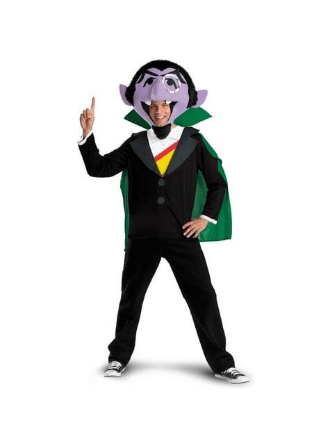 Kostým pre dospelých Gróf Dracula: Sezamová ulica