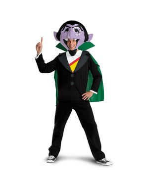 Count Dracula: Sesame Street Adult Costume