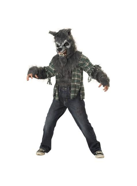 Kostium zły wilkołak dla dziecka