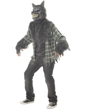 Disfraz de hombre lobo maldito