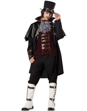 Fato de vampiro Vitoriano Élite