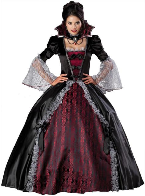 Vrouwelijke vampier Versailles elite Kostuum