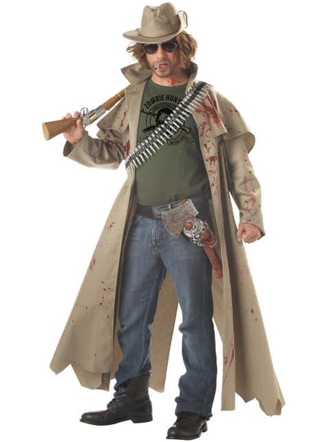 Déguisement de chasseur de zombies