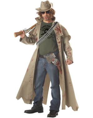Fato de caçador de zombies