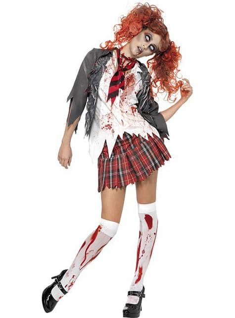 Zombie Studentin Kostüm