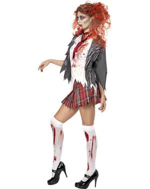 Costum de studentă zombie