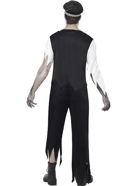 Disfraz de policía zombie - original