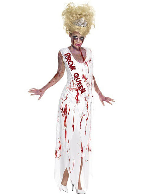 Dräkt drottning av festen zombie