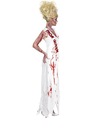 Zombie Schönheitskönigin Kostüm