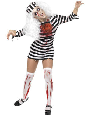 Zombie Female Prisoner Adult Costume