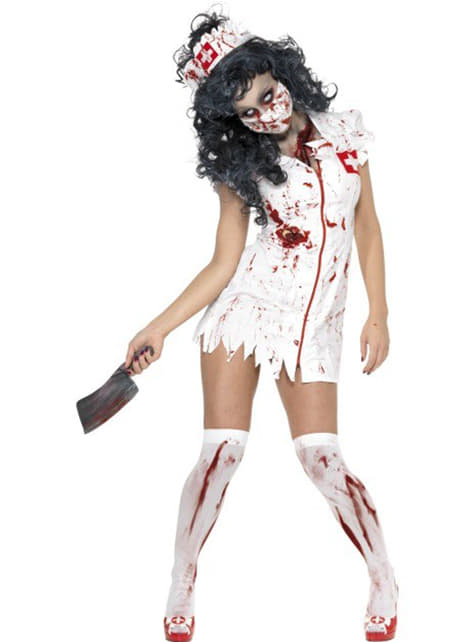 Zombie Wandering Nurse Adult Costume