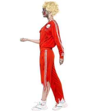 Costume de professeur de sport zombie pour femme