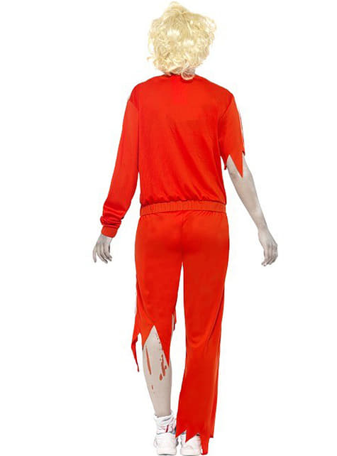 Disfraz de profesora de gimnasia zombie - original