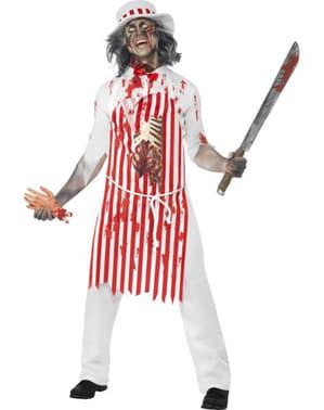 Costume de boucher zombie