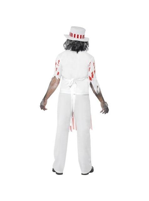 Disfraz de carnicero zombie - original