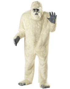 Disfraz de Yeti