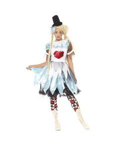 Alice i Horrorland Voksenkostyme