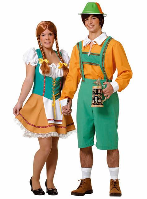 Costum de tiroleză