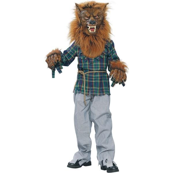 Disfraz de hombre lobo para niño - Imagui