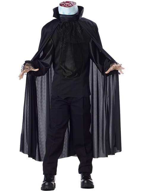 Kostým bezhlavého muža (pre deti)