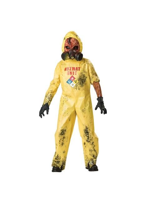 Disfraz de infectado químico para niño