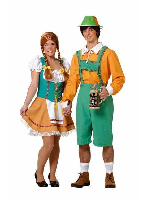 Tiroler kostuum voor mannen
