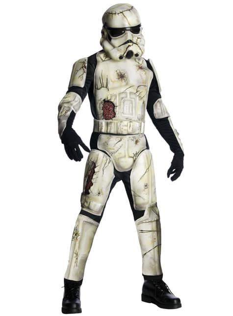 Déguisement de Stormtrooper Zombie haut de gamme