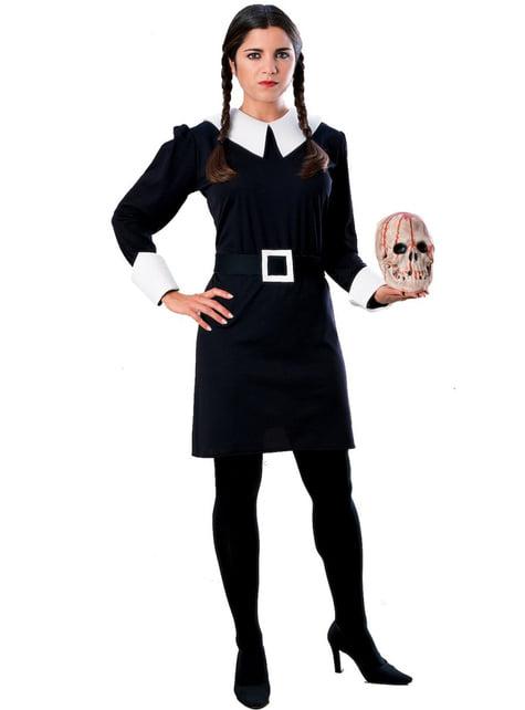 Onsdag Addams Familien Kostyme Voksen
