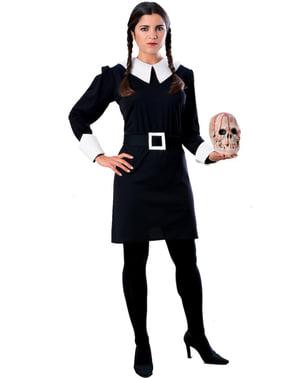 Kostým Wednesday pre dospelých (Rodina Addamsovcov)