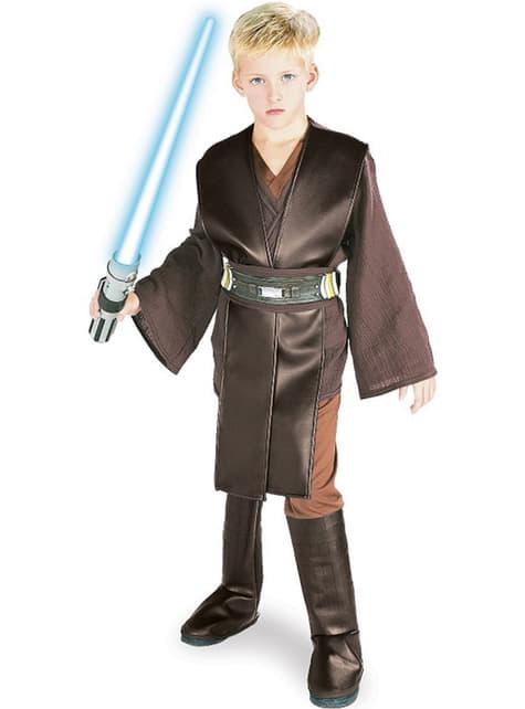 Déguisement d'Anakin Skywalker pour garçon deluxe