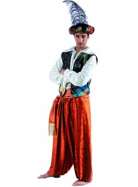 Oriental Tuareg Kostyme til Menn