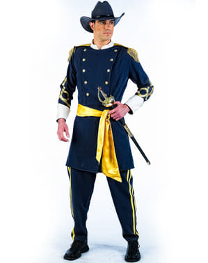 Disfraz de confederado deluxe