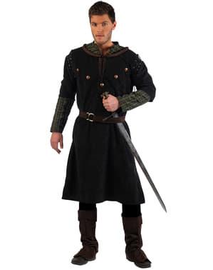 Луксозен костюм на средновековен рицар с меч за възрастни