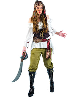 Deluxe Pirate Looter Woman Adult Costume