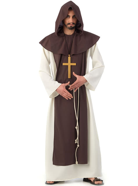 Cisterian Monk Kostyme Voksen
