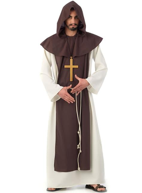 Middelalder cistecienser munk kostume