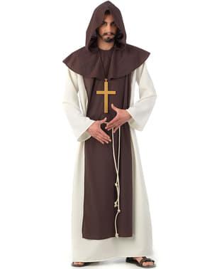 Kostým pro dospělé cisterciácký mnich