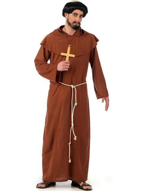 Strój średniowieczny zakonnik Franciszkanin