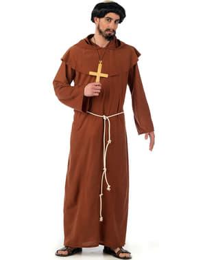 Mittelalterlicher Franziskanermönch Kostüm