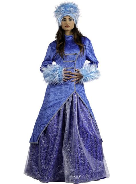 Deluxe Russisk Prinsesse Kostyme Voksen