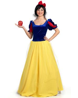 Kostým pro dospělé Sněhová princezna deluxe